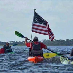 flag paddler
